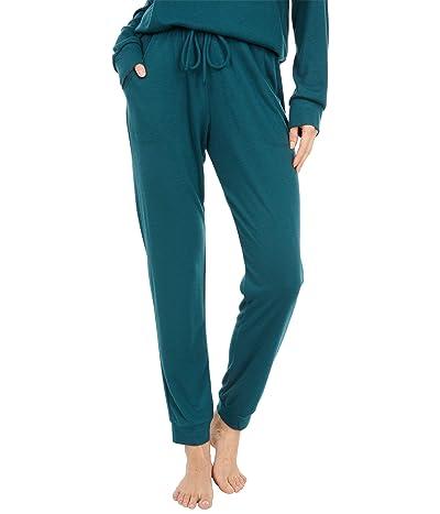 Eberjey Mina The Runner Lounge Pant (Evergreen) Women