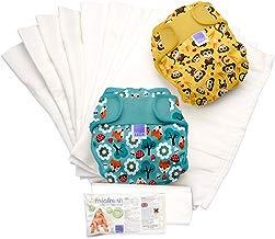 Bambino Mio Miosoft - Set de pañales de tela, diseño unisex, talla 1, 9 kg