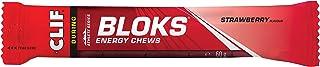 Clif Bloks Energy Chews voedingssupplementen tijdens en pre workout, aardbeien, 18 x 50 g