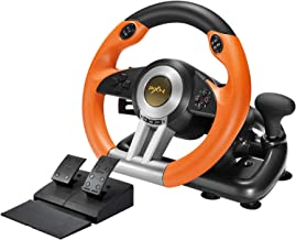 Best PXN V3II PC Racing Wheel, USB Car Race Game Steering Wheel with Pedals for Windows PC/PS3/PS4/Xbox One/Nintendo Switch Review