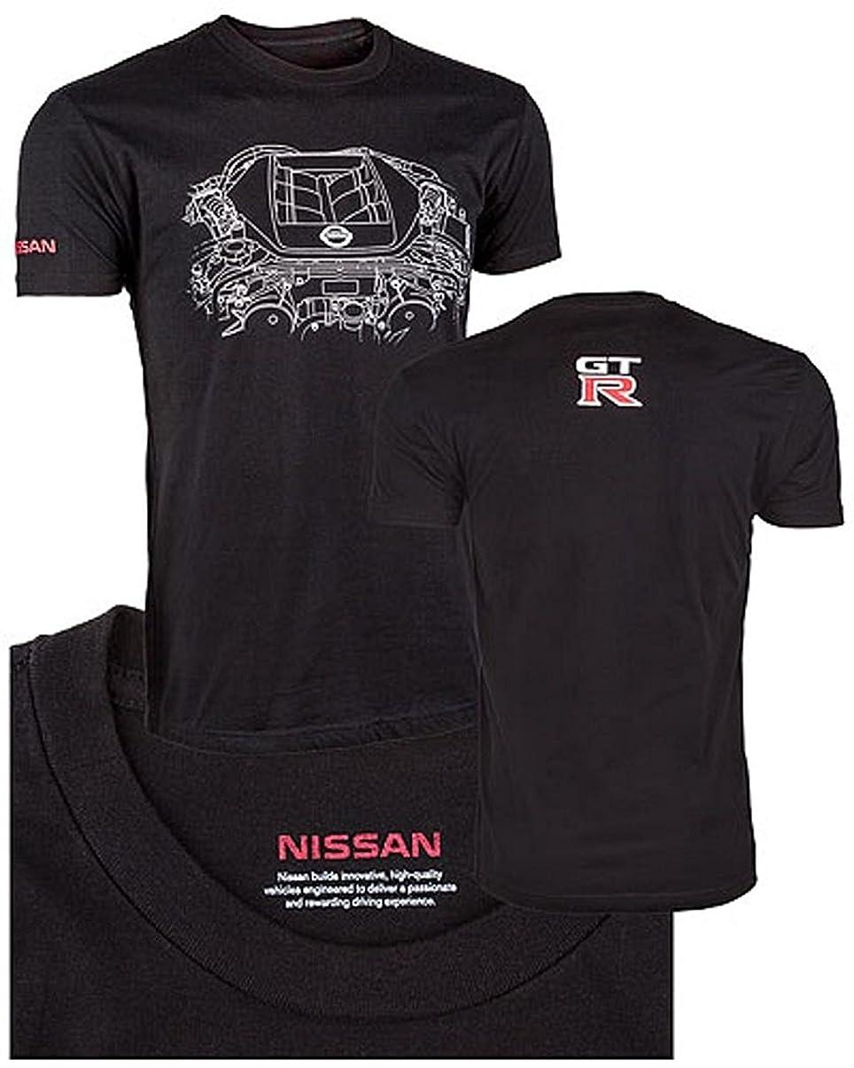 GTR Engine T-Shirt Black