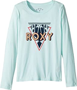 Roxy Kids Lost in Dream Diamond Corpo Long Sleeve Tee (Big Kids)