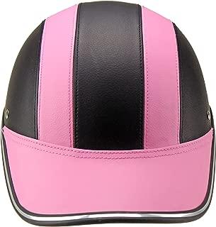 FidgetKute Lightweight Unisex Summer Cycling Helmet Baseball Cap for Motorcycle Bike Riding Pink