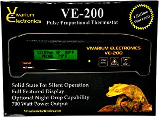 Vivarium Electronics VE-200 Thermostat (Reptile Basics)