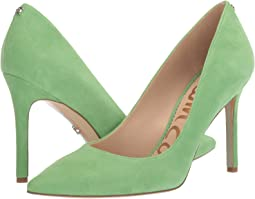 Summer Green Suede Leather