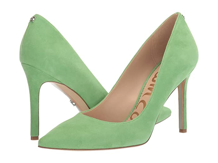 Sam Edelman  Hazel (Summer Green Suede Leather) Womens Shoes