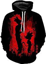Lente En Herfst Goku Hoodies Karakter Kleding Polar Fleece Pullover 3D Digitaal Printing Hip-Hop Streetwear