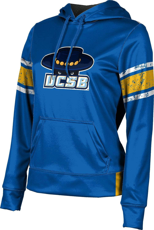 ProSphere University of California Santa Barbara Girls' Pullover Hoodie, School Spirit Sweatshirt (End Zone)
