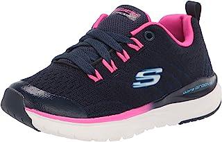 Skechers Kids Sport, Air Cooled Memory Foam, Girls Lace Up Sneaker