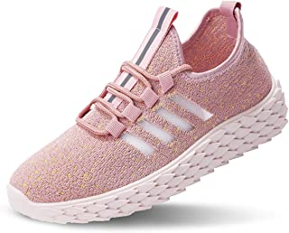 JIYE Womens Fashion Sneakers Lightweight Sports Shoes Breathable Casual Walking Shoes