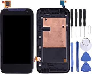 LCD Display Replacement Parts LCD Screen and Digitizer Full Assembly with Frame Compatible for HTC Desire 310 Mobile Phone...