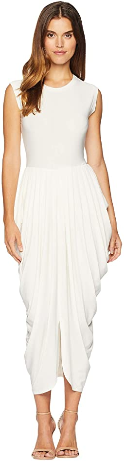 Sleeveless Waterfall Dress