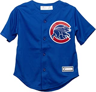 Outerstuff Chicago Cubs Alternate Blue Toddler Cool Base Jersey