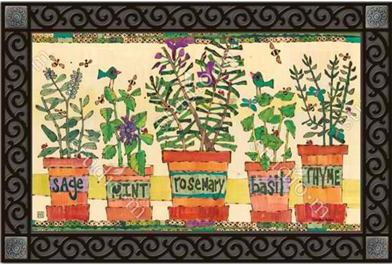 Magnet Works MatMate - Herb Garden