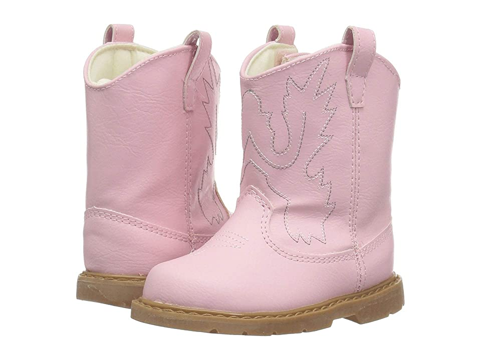 Baby Deer First Steps Western Boot (Infant) (Pink) Cowboy Boots