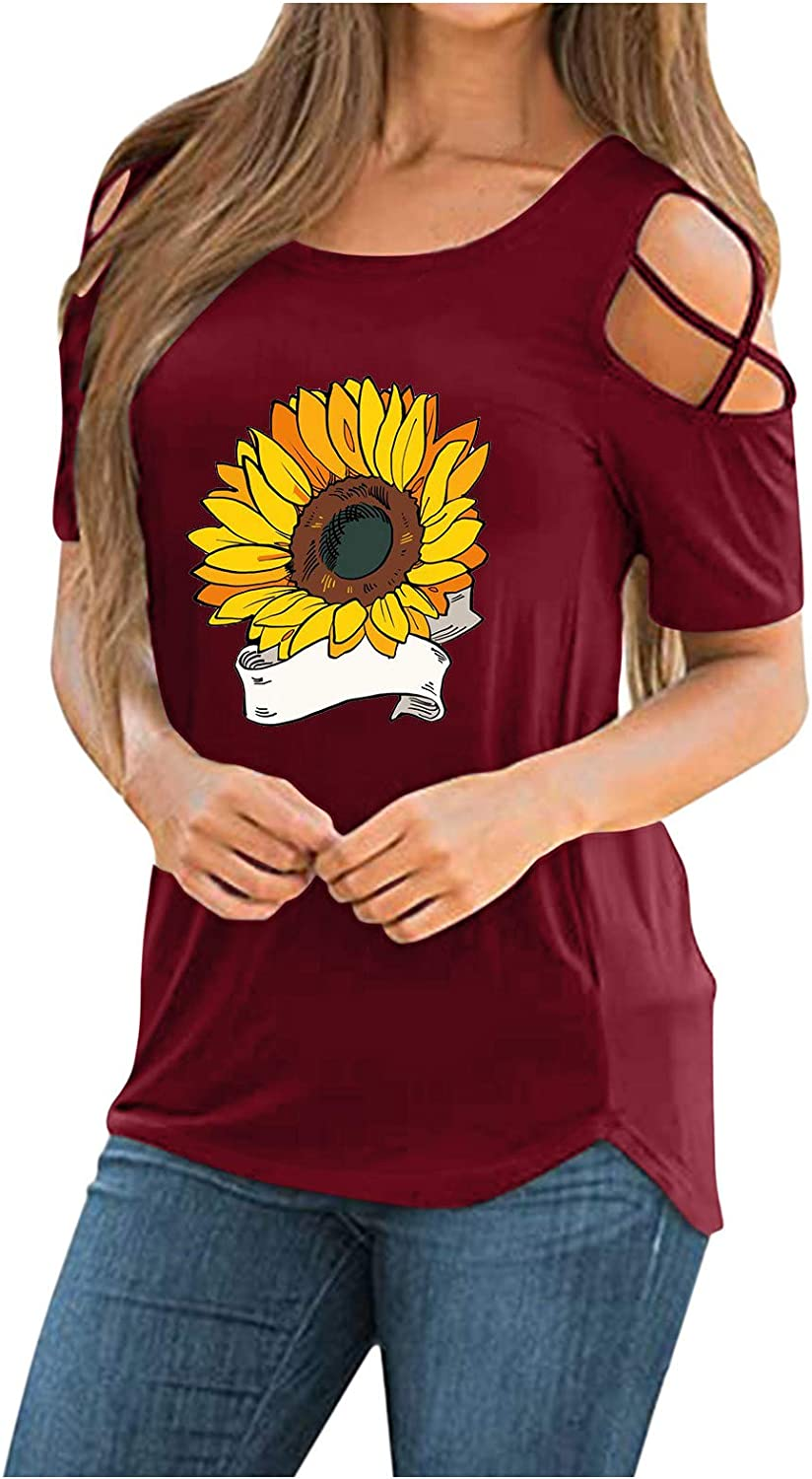 Xiart Womens Summer T Rare Shirts Casual Sleeve Short C Genuine Free Shipping Tunic Strappy