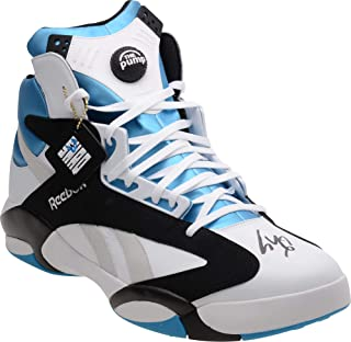 Shaquille O'Neal Autographed Reebok Blue/White Size 22 Sneaker - Autographed NBA Sneakers
