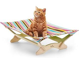 【一生モノの猫ハンモックベッド】 Catoneer キャットハンモック 猫ベッド キャットベッド 猫用品 ねこ ネコ 木製 ペット【日本総代理店正規品】 (Spring Plum)
