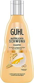 Guhl - Champú de impulso natural con huevo y coñac contiene proteínas y lecitina fortalece el cabello 250 ml
