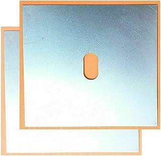 für 3er E36 Aufnahme Hebebühne Wagenheberaufnahme 2xSchweißblech 155x155x15mm
