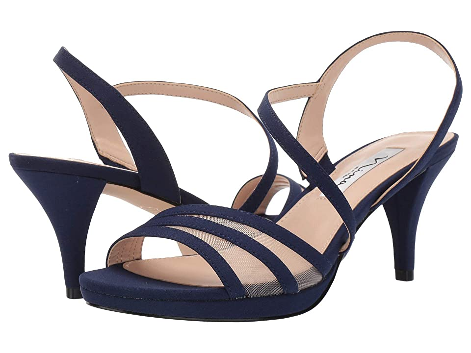 Nina Nazima (Navy Mini Matte Faille) High Heels