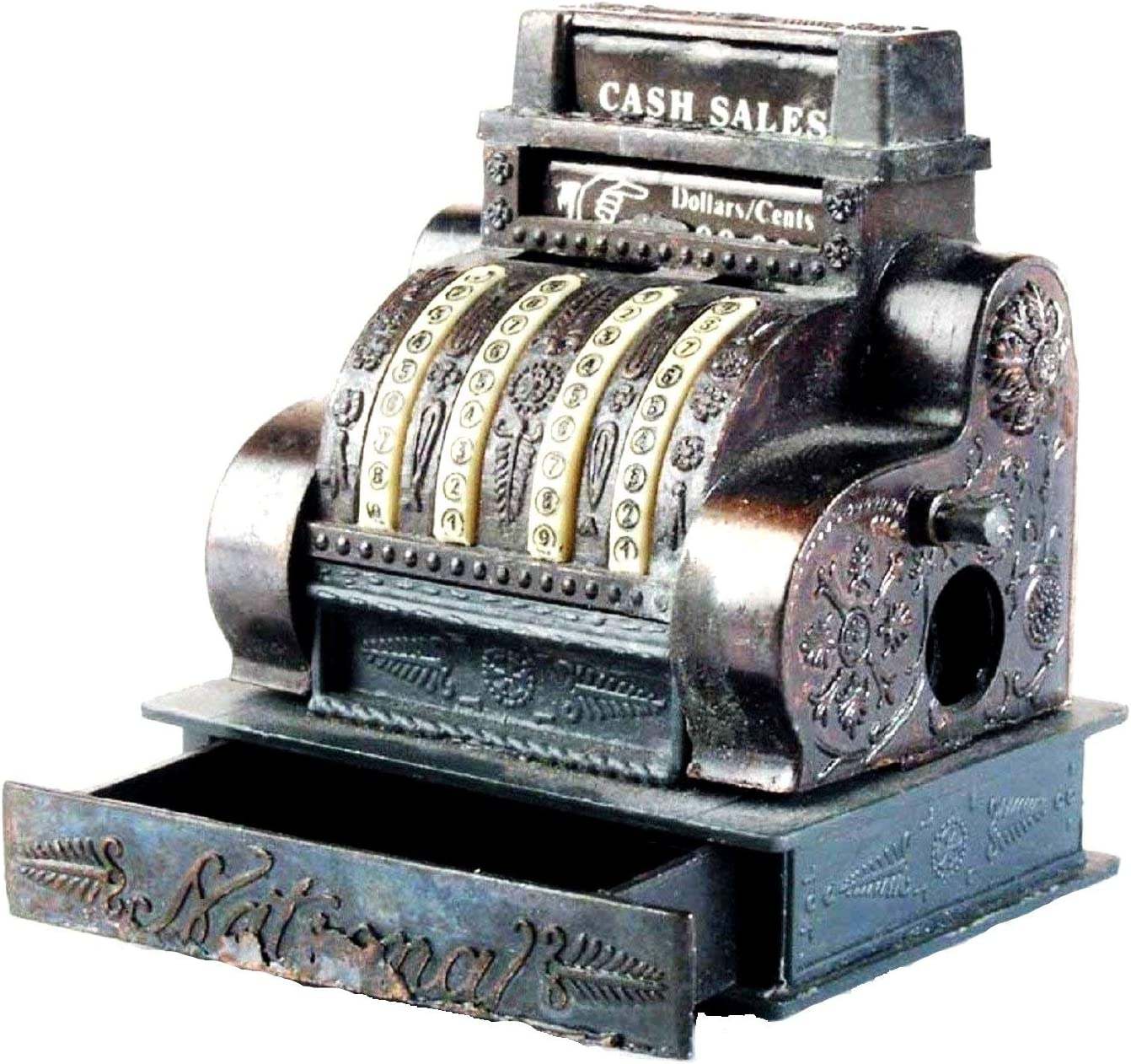 Old Time Cash Register Die Sharpen Pencil Direct Superlatite sale of manufacturer Metal Collectible Cast
