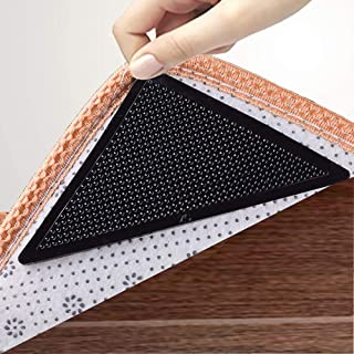 LOALA Rug Gripper,Non Slip Rug Grippers Pad, Reusable Washable Double Sided Carpet Tape Gripper for Hard Floors,Hardwood F...