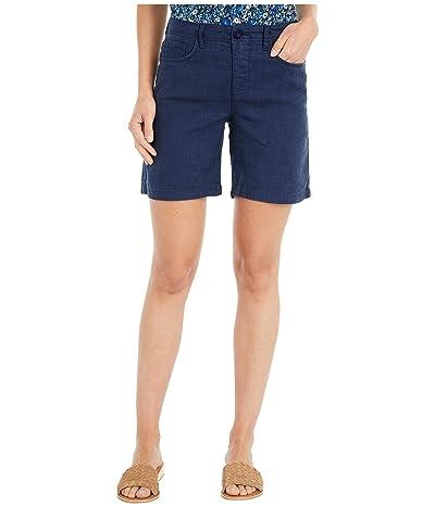NYDJ Five-Pocket Shorts in Evening Tide (Evening Tide) Women