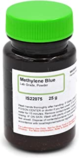Lab-Grade Methylene Blue Powder, 25g - The Curated Chemical Collection