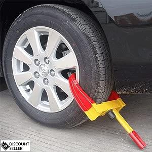 DiscountSeller Heavy Duty Wheel Security Clamp