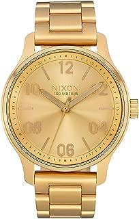 Nixon Patrol Men's Quartz and Custom Stainless Steel Watch. (42mm. Stainless Steel Band)