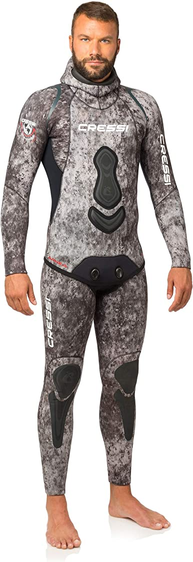 Muta da uomo cressi apnea, muta completa giacca e pantalone, uomo LE450-406