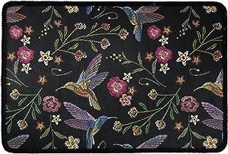 Pensura Welcome Doormats Indoor Outdoor Floor Mats Non Slip with Floral Bird Pattern Door Mat for Living Room Bedroom Kitc...