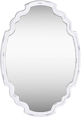 Kenroy Home 60227 Backstage Wall Mirror, White