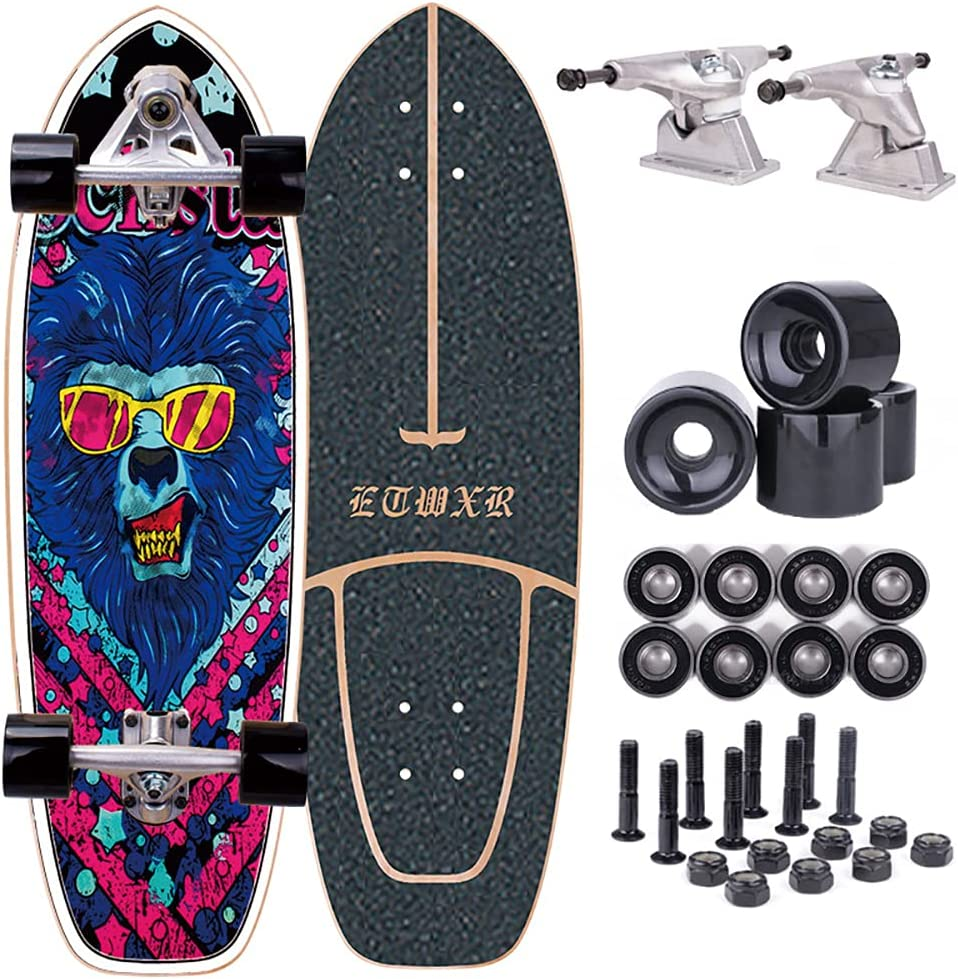 lowest price Complete Skateboard Deck for Beginners Pumpi High quality Mini Carver Cruiser