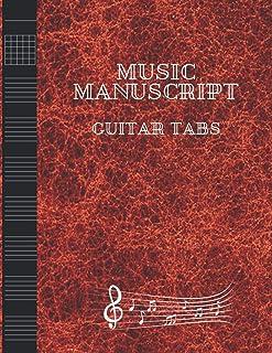 Music Mnanuscript: Guitar TABS