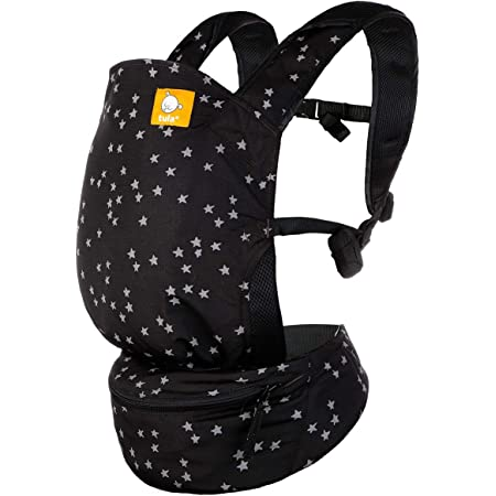 Baby Tula Lite Compact Baby Carrier, Ultra Compact and Lightweight, Convenient Carry Pouch, Ergonomic and Multiple Positions for 12 – 30 pounds (Discover)