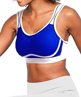 a2327a59181 Osvyosport Women s High Impact Support Wireless Padded Workout Sports Bra