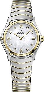 EBEL Ladies 1216388A Sport Classic 18K Gold & Steel Swiss Quartz Watch