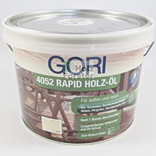 Gori 4052 Rapid Holzöl 7121 Bangkirai, 2,50 Liter