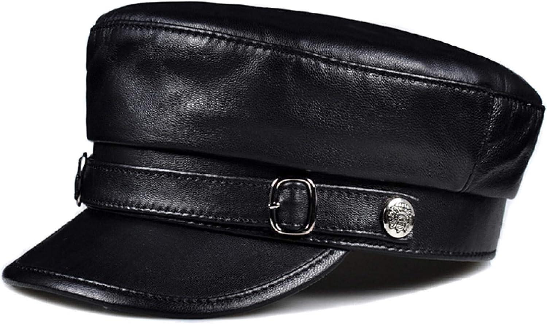 BELEMON Hat Women Limited Special Price Men Caps Black PU Hats Female 100% quality warranty Flat studentsr A