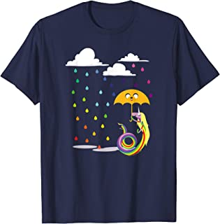 Adventure Time Lady in the Rain T-Shirt