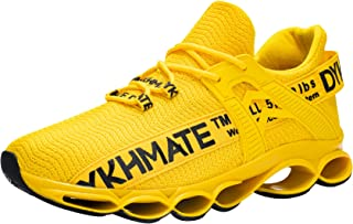 DYKHMATE Chaussures de Sport Homme Femme Baskets Chaussures Outdoor Running Gym Fitness Sneakers Style Running Multicolore...