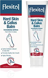 Flexitol Hard Skin and Callus Balm, Immediately Softens Hard