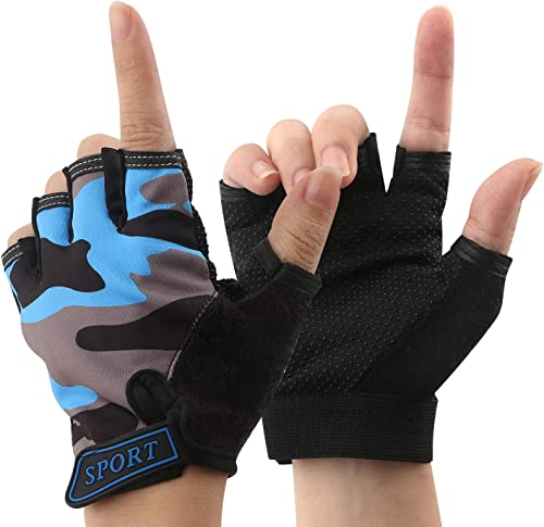 Bicycle Gloves Child Sport Bicycle Non-Slip Sports Gloves Boy Girl