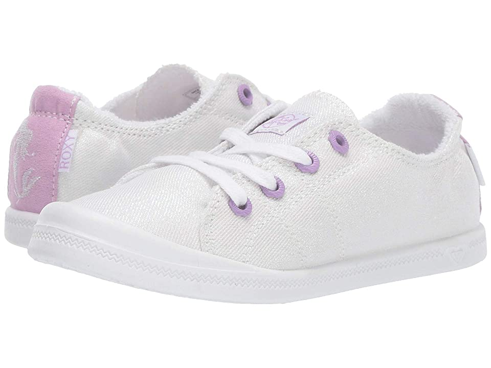 Roxy Kids Disney(r) Bayshore III (Little Kid/Big Kid) (Off-White) Girls Shoes