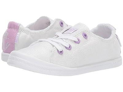 Roxy Kids Disney(r) Bayshore III (Little Kid/Big Kid) (Off-White) Girls Shoes