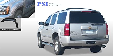 PSI Auto Restyling 800-0132T OEM Style Fender Flares; Front And Rear; Flare Width OEM; Tire Coverage OEM; Textured Black
