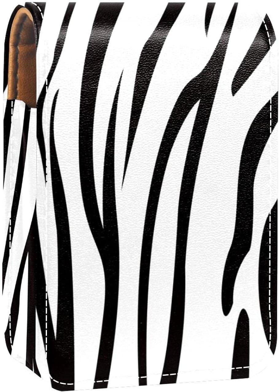 White Black Lip Bombing free shipping Gloss Holder Lipstick Makeup Bag Max 77% OFF T Case Portable