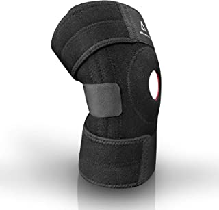 Knee Brace, Relieve ACL, LCL, MCL, Arthritis, Meniscus Tear Pain, Open Patella Dual Stabilizers, Sports Exercise with Adjustable Strapping & Breathable Neoprene
